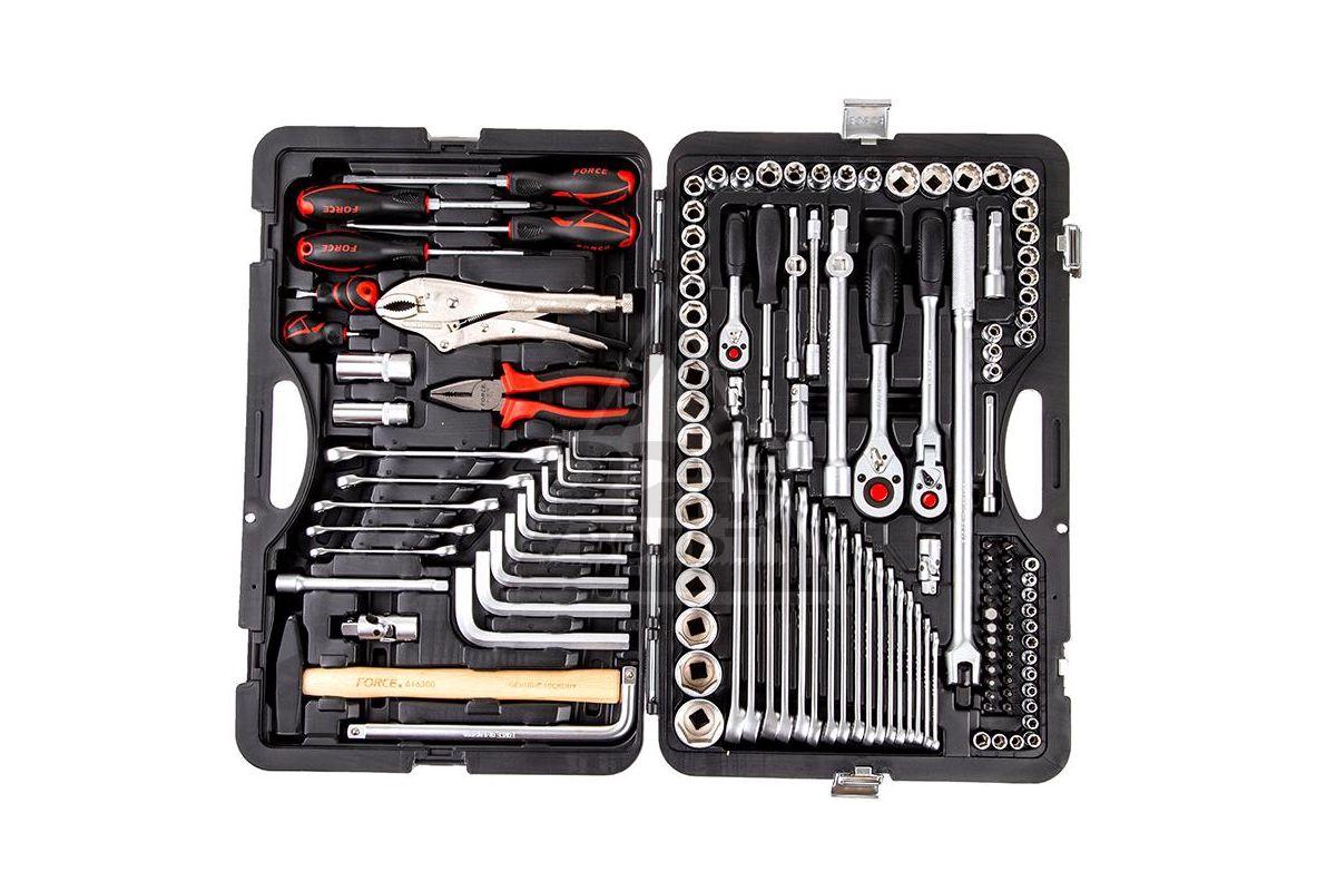универсальный набор инструментов для автомонтажа FORCE 41421R
