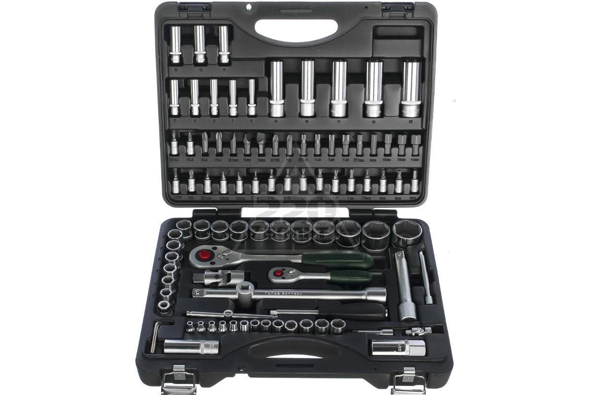 профессиональный набор инструментов для автомонтажа FORCE 4941R-5