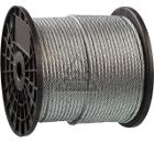 Трос ЗУБР Профессионал DIN 3055 d=6 мм L=120 м