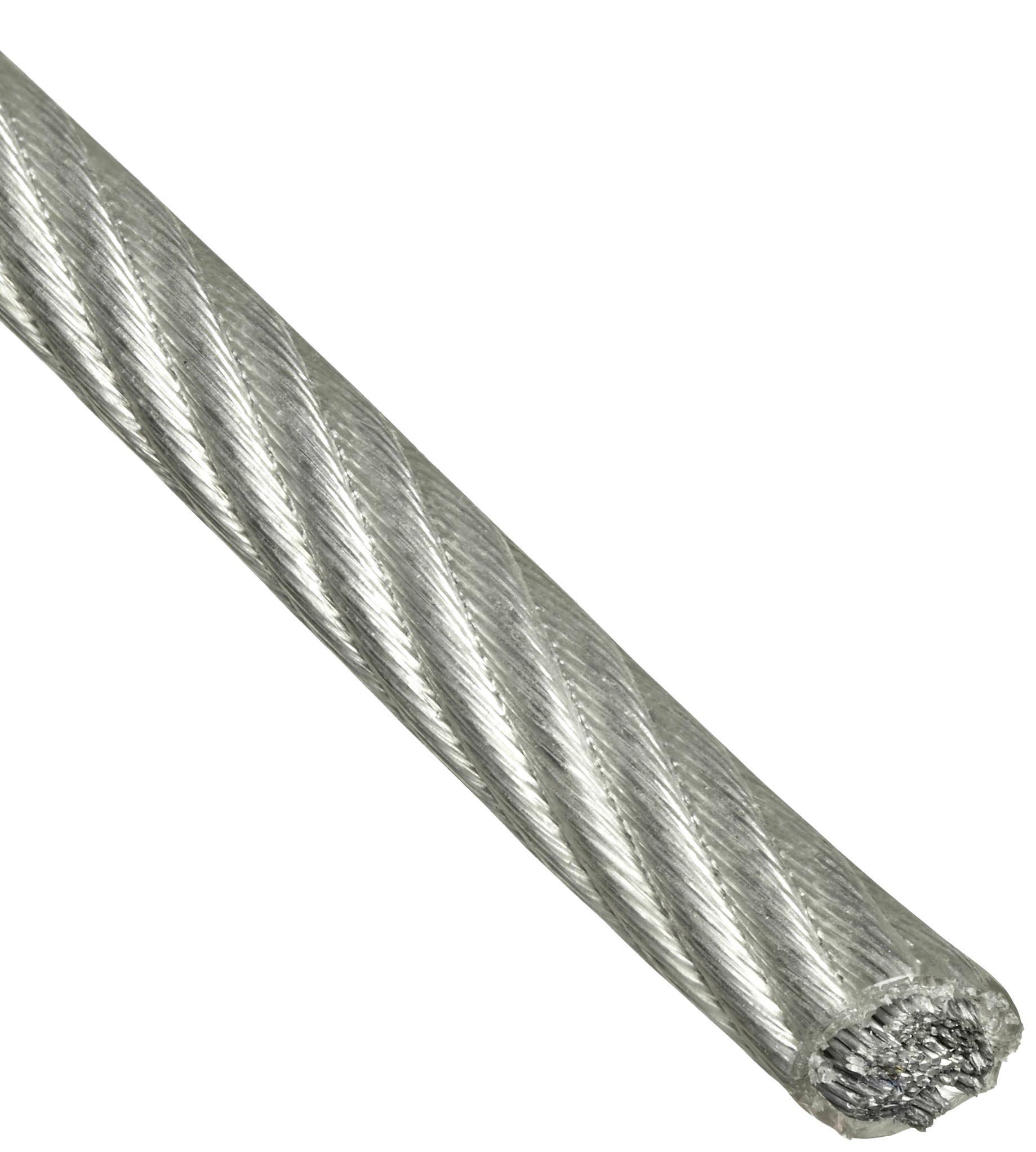 Трос ЗУБР Профессионал din 3055 в оплетке ПВХ d=6/8 мм l=100 м
