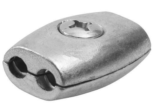 "Зажим для троса ЗУБР Мастер ""Бочонок"" (4-304455-03) 3 мм, 25 шт."