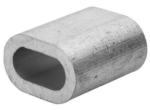 Зажим для троса ЗУБР Мастер DIN 3093 (4-304475-03) 3 мм, 100 шт.