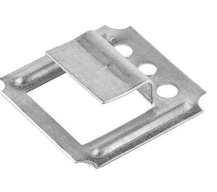 Кляймер для вагонки ЗУБР 8.0 мм 50 шт. (3075-08)