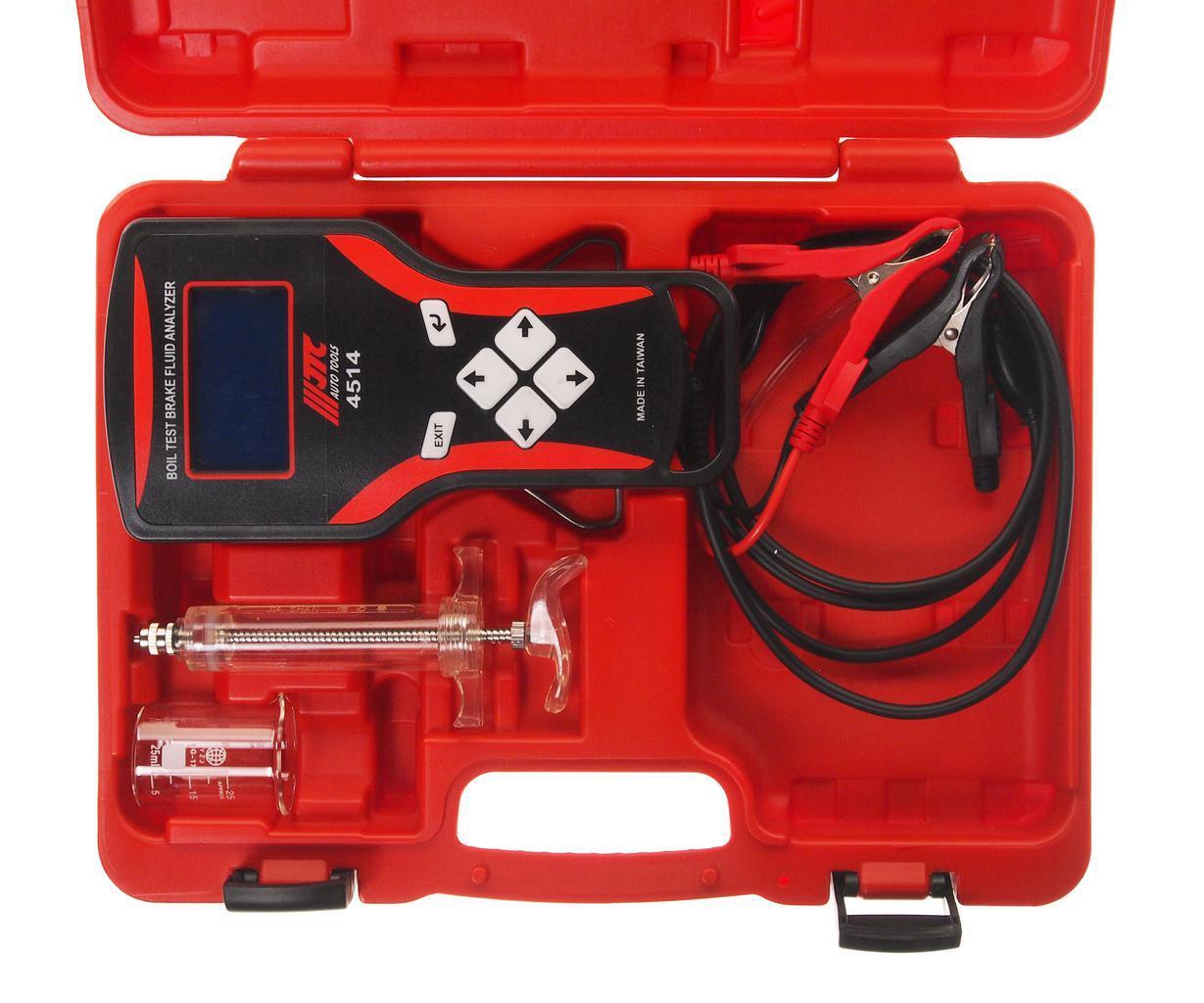 Тестер Jtc Jtc-4514 тестер вакуумного и топливного насосов jtc профессиональный jtc 1622