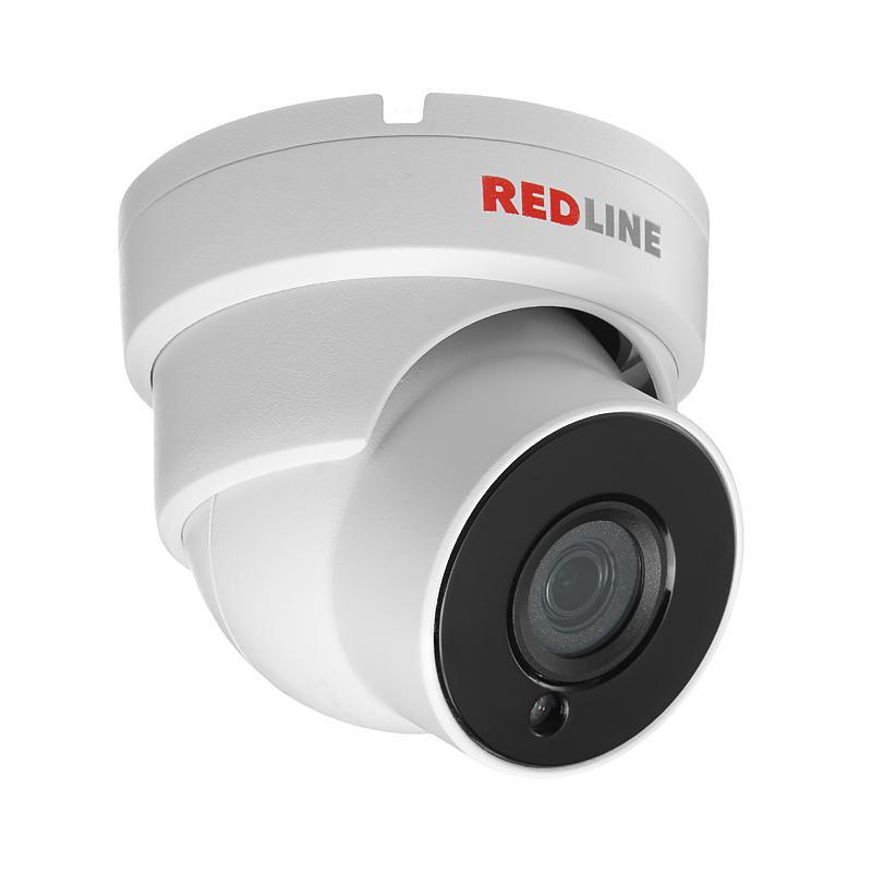 Камера видеонаблюдения Redline Rl-ip24p-s веб камера онлайн запись видео