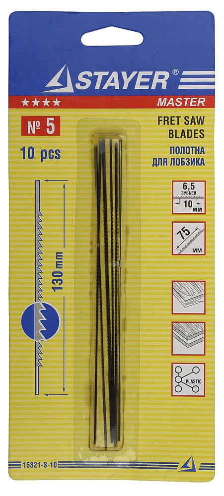 Полотно для ручной ножовки Stayer Master 15321-s-10