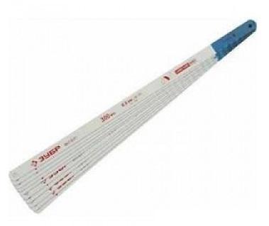 Полотно для ручной ножовки ЗУБР 15855-24-10 ПРОФЕССИОНАЛ полотно по металлу зубр профессионал 300мм 50шт 15855 24 50
