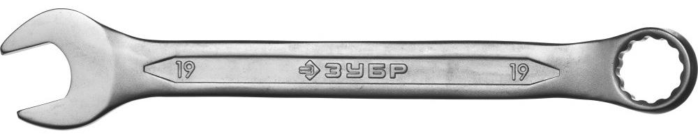 Фото - Ключ гаечный ЗУБР 27087-19 МАСТЕР ключ гаечный зубр 27087 07 мастер