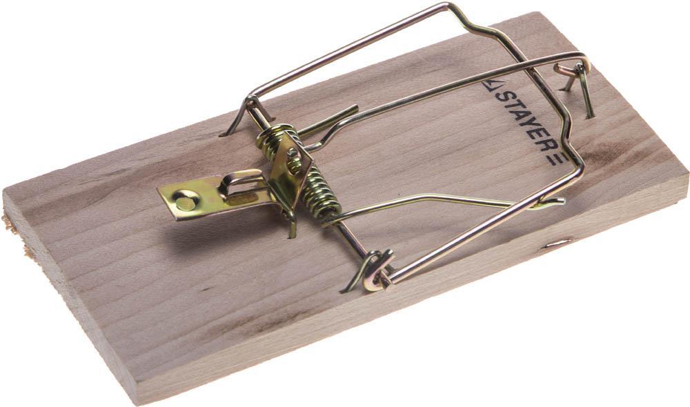 Мышеловка Stayer 40501-m standard мышеловка rat