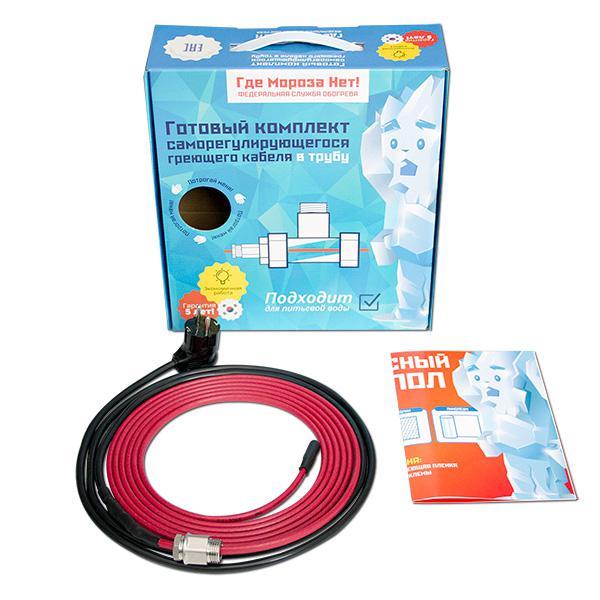 лучшая цена Греющий кабель ГДЕМОРОЗАНЕТ Kvf15-5