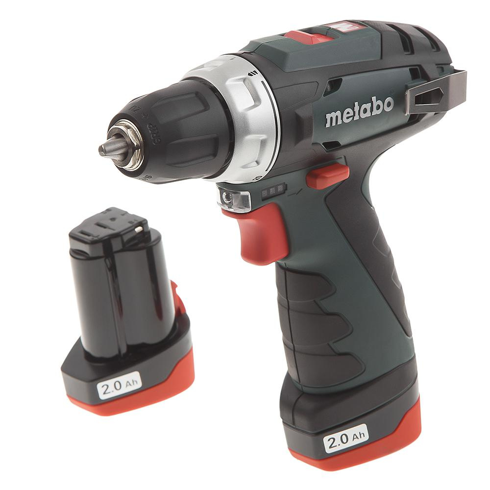 Дрель аккумуляторная Metabo Powermaxx bs (600079550) metabo powermaxx bs 12 bl 601038500