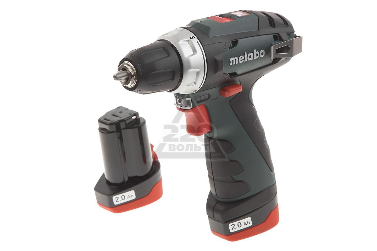 10dc19cab431 Дрель аккумуляторная Metabo PowerMaxx BS (600079550) - купить, цена ...