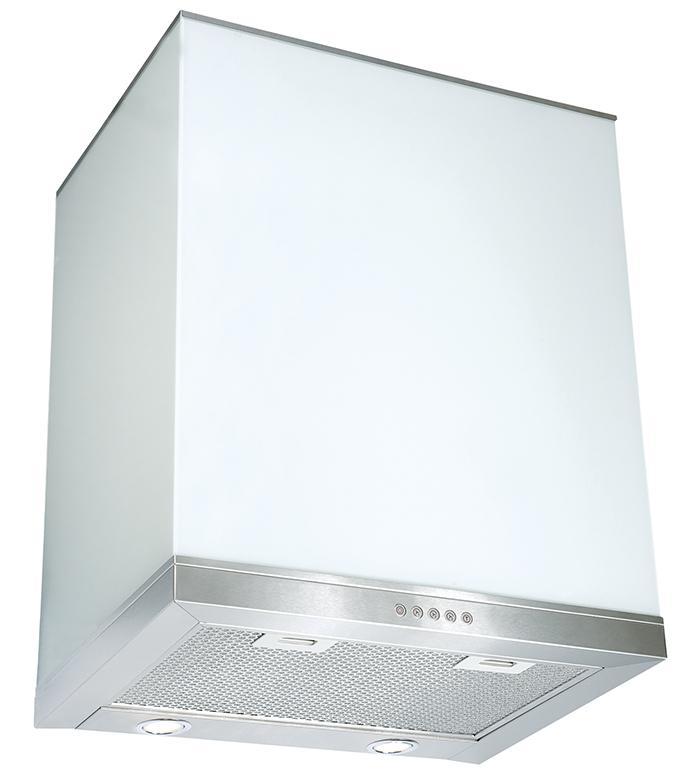 Вытяжка Elikor Виолан glass 60Н-650-Э3Г нержавейка/белый