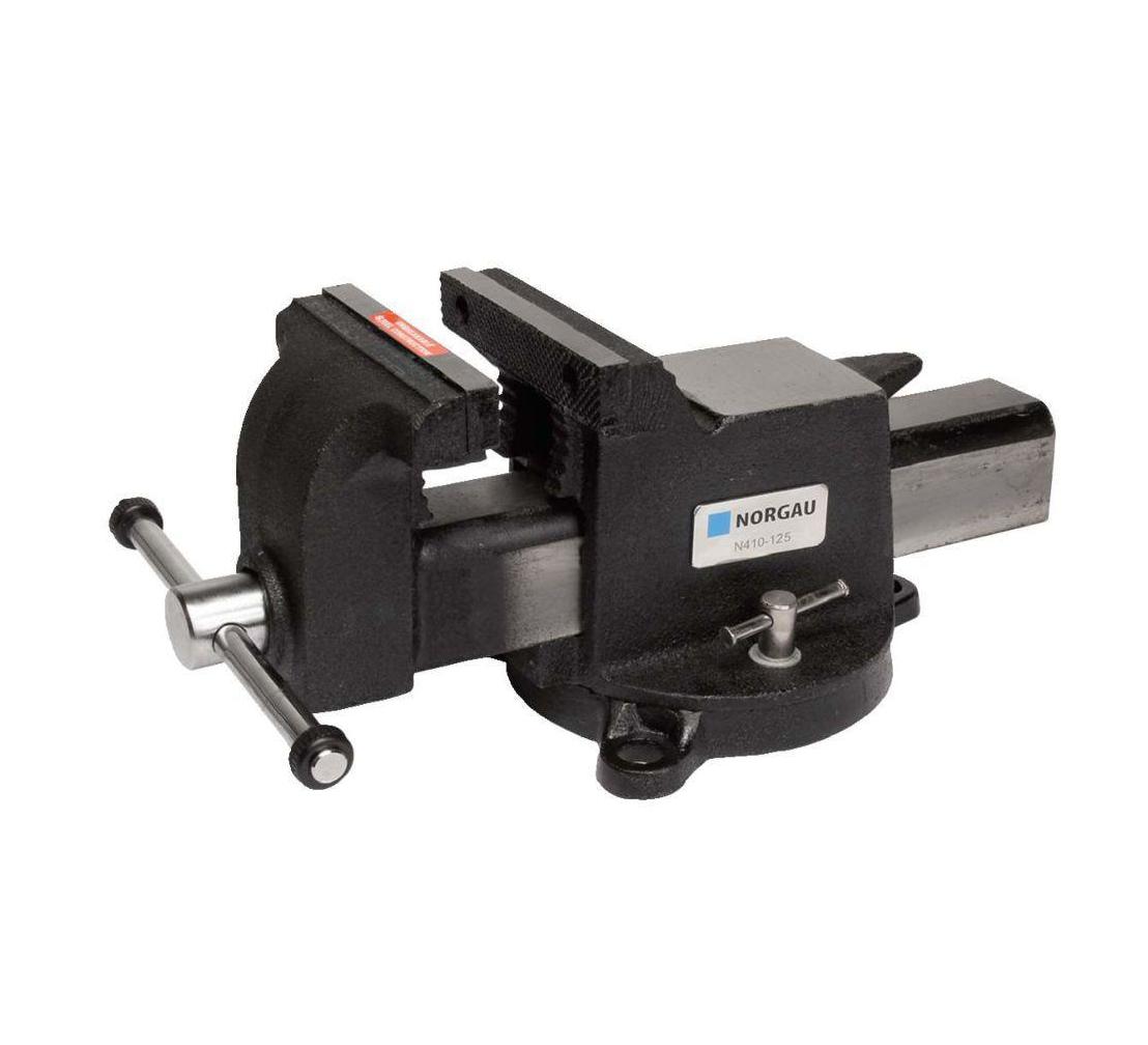 Тиски поворотные NORGAU N410-175 (073004175), 175 мм с наковальней