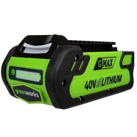 Аккумулятор Greenworks 40В 3Ач li-ion (g40b3 2925707) аккумулятор hammer premium akb1813li 18в li ion 1 3ач для bosch