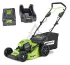 Аккумуляторная газонокосилка GREENWORKS GD60LM46SPK4 (2502907UB)