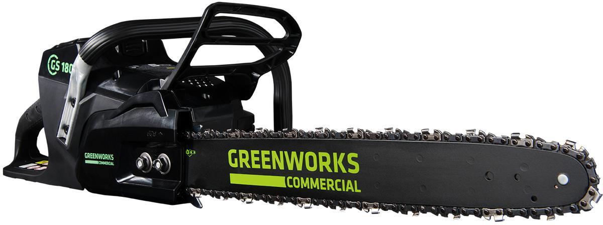Пила цепная аккумуляторная Greenworks GС82csk25 (2001607ua) 1акк 82v 2,5Ач + ЗУ