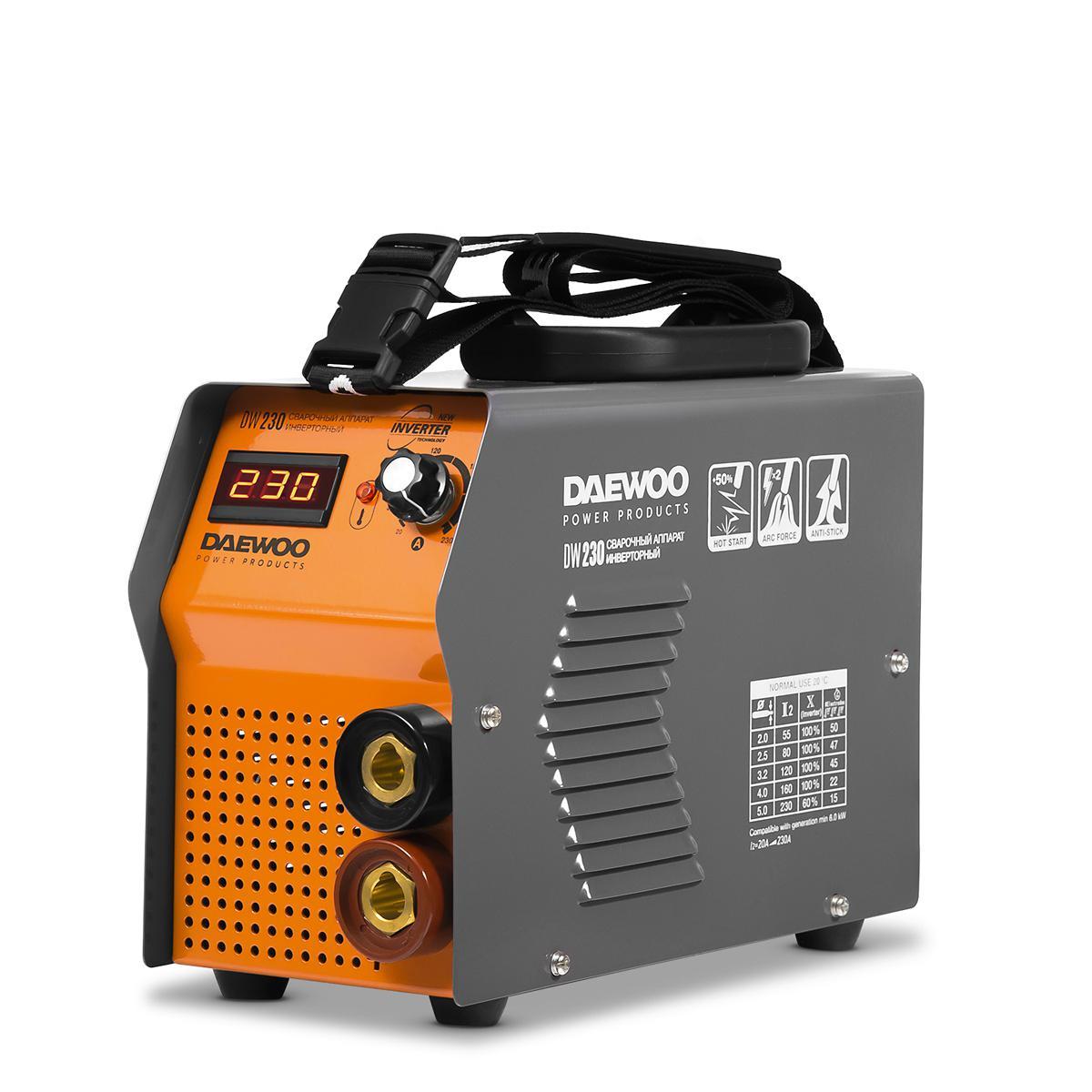 Сварочный аппарат Daewoo Dw 230 сварочный аппарат daewoo dw 170