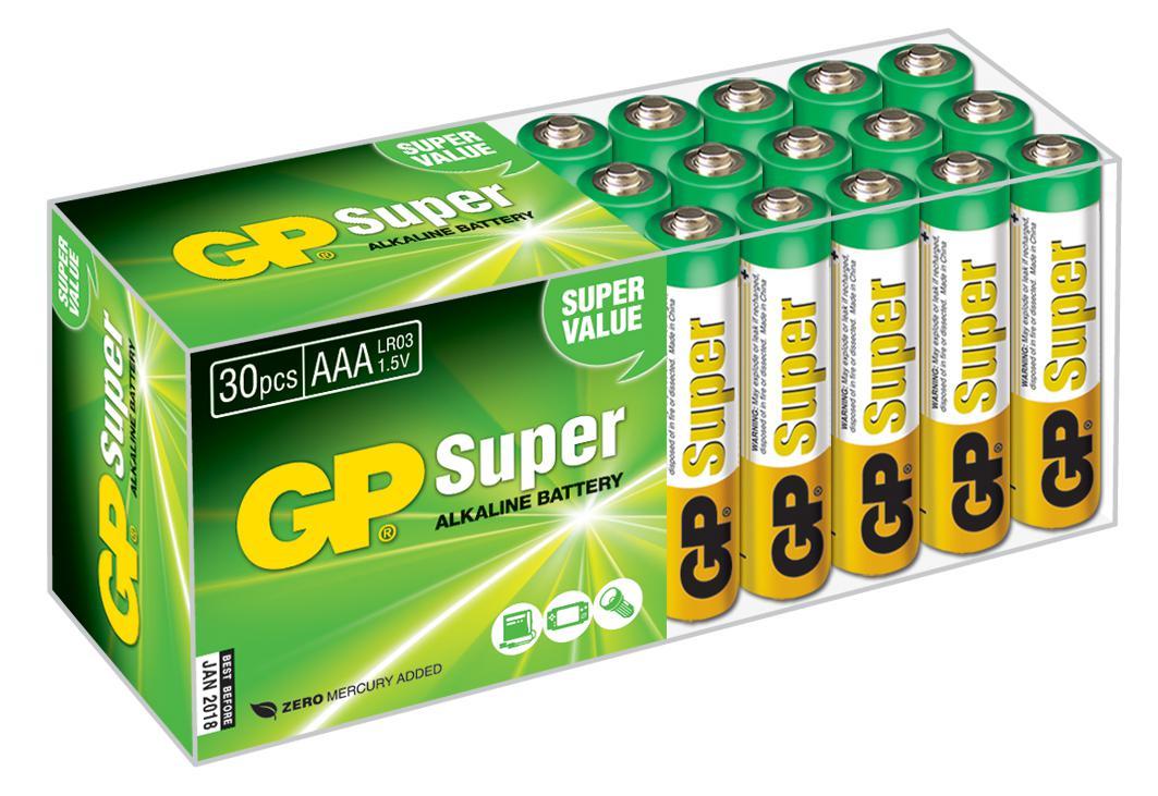 Батарейка Gp 24a-2crvs30 Тип: aaa (lr03) (Кол-во в уп. 30шт.)