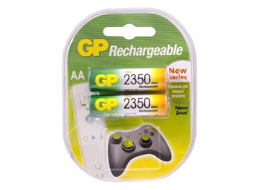 Аккумулятор GP 235PROAAHC-2CR2 Тип: AA (LR6) (Кол-во в уп. 2шт.)