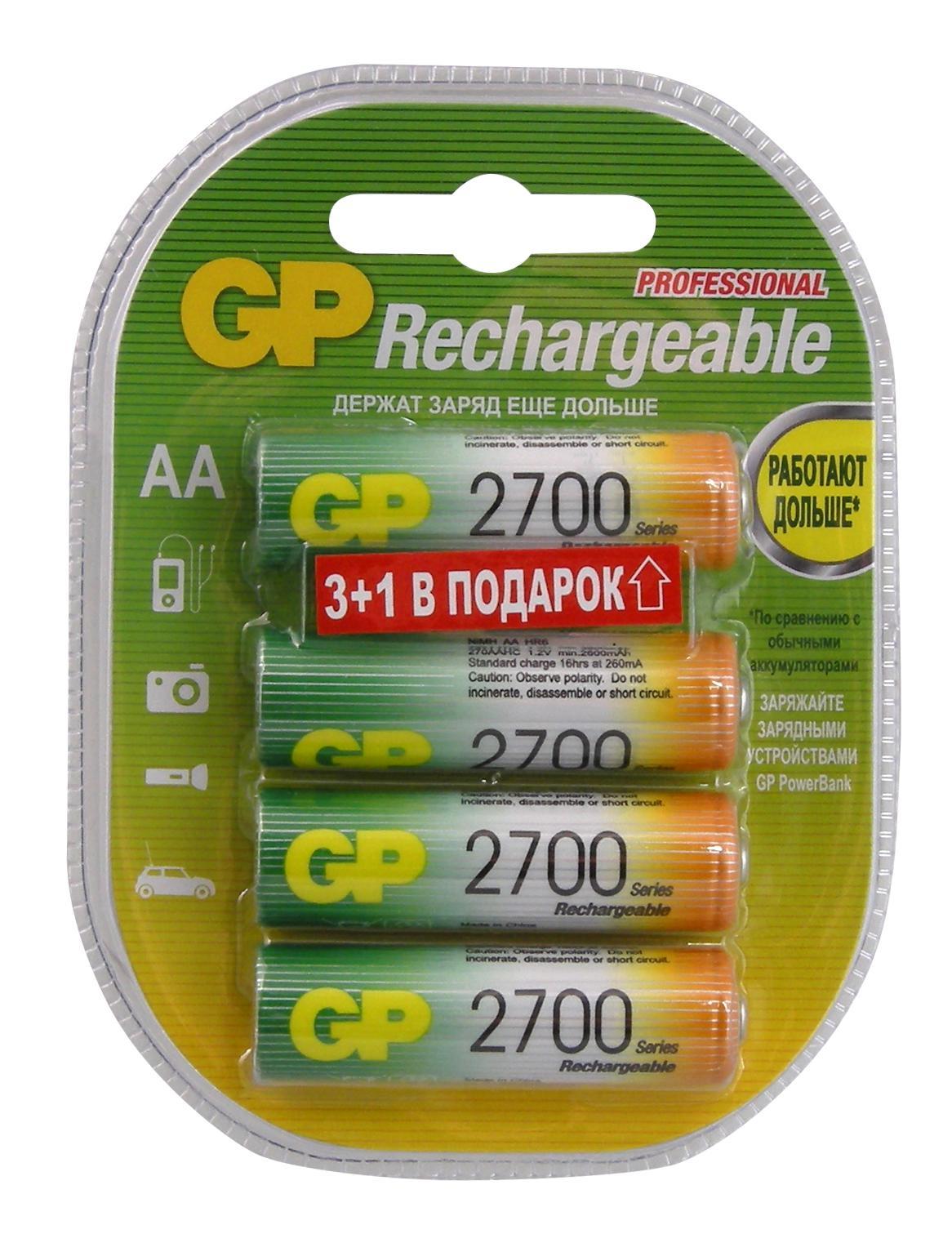 Фото - Аккумулятор Gp 270aahc3/1-cr4 аккумулятор