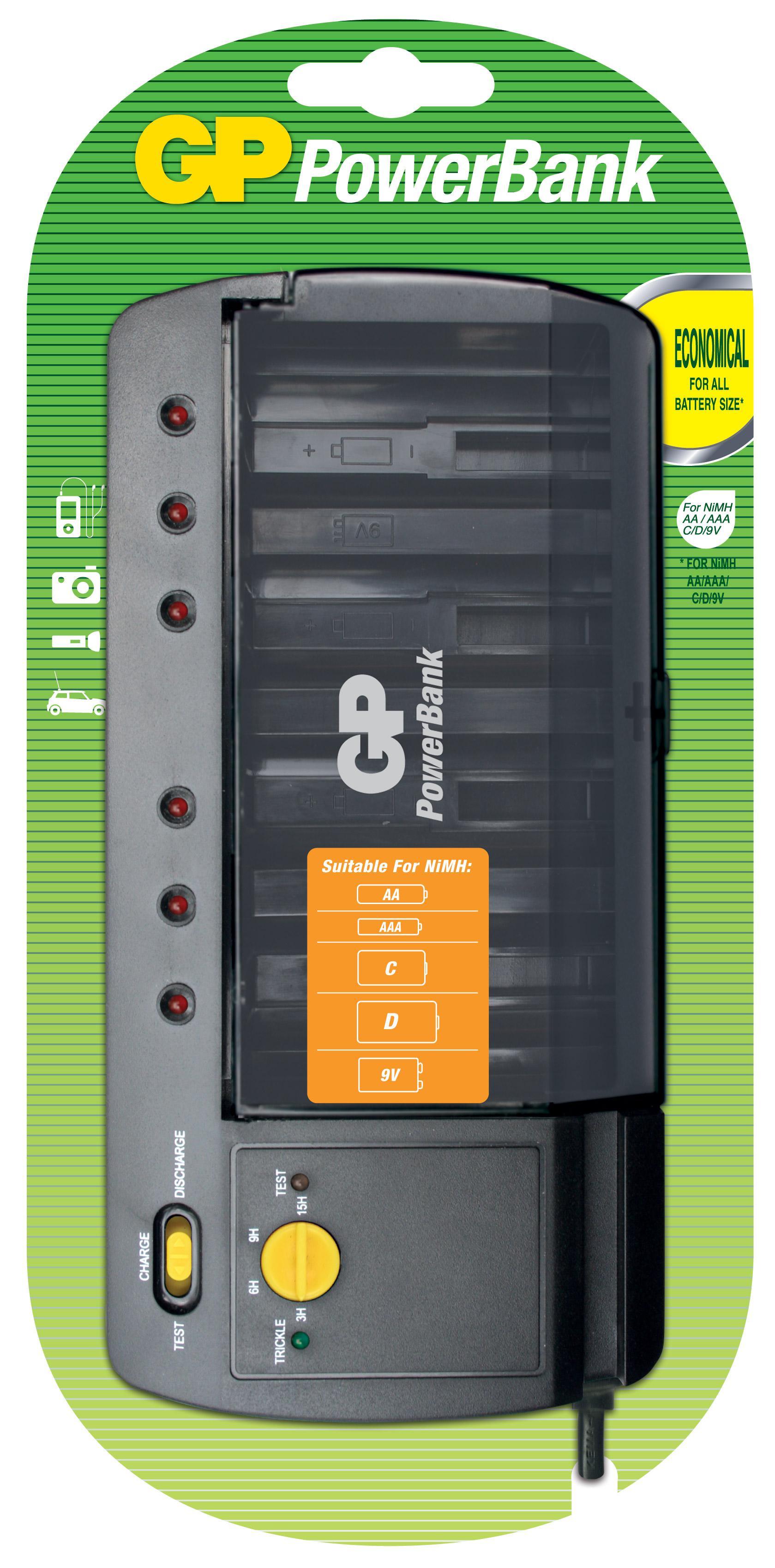 цена на Зарядное устройство Gp Pb320gs-2cr1