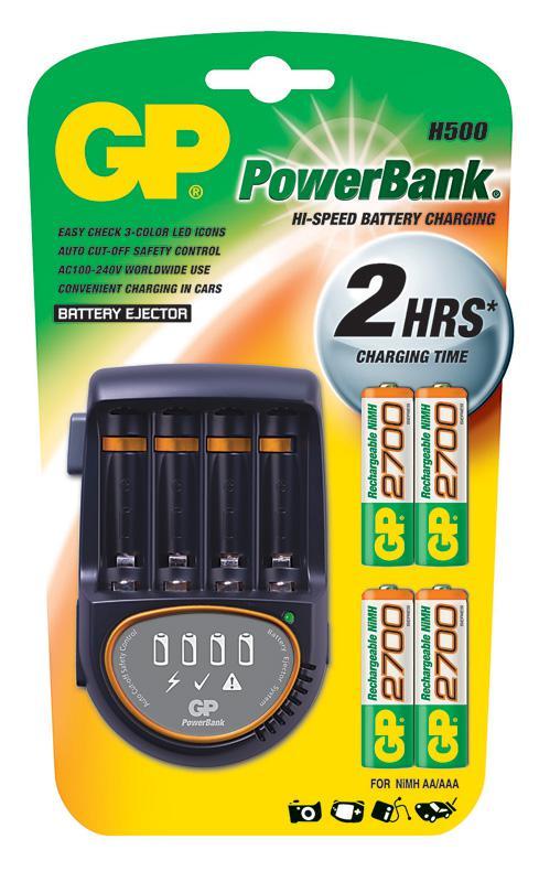 Зарядное устройство Gp Pb50gs270ca-2cr4 зарядное устройство и аккумулятор gp powerbank pb420gs130 1300mah aa 4шт