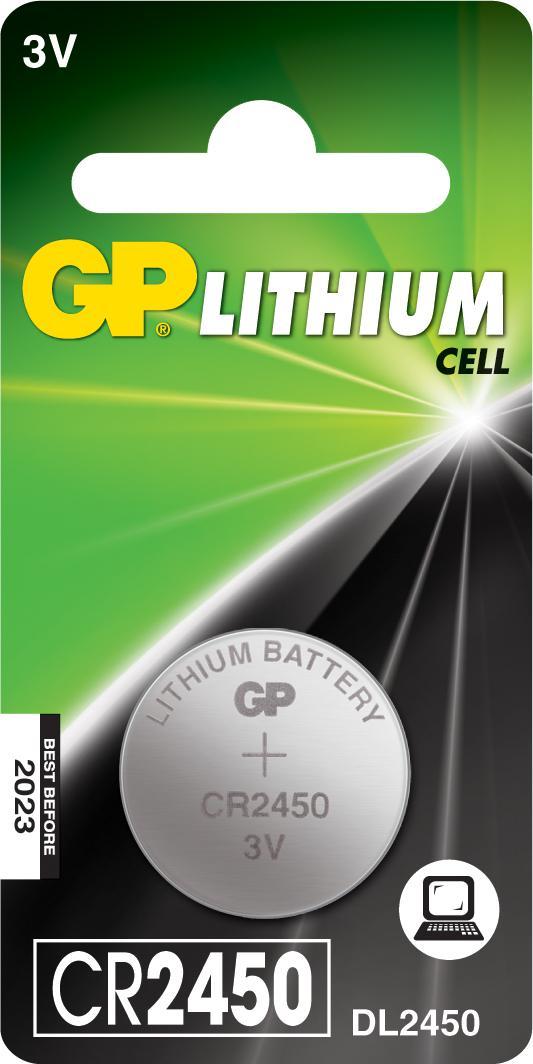 Батарейка Gp Cr2450-2c1