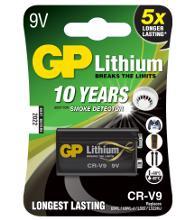 GP CR-V9SD-2UE1 Тип: крона 6F22(9V) (Кол-во в уп. 1шт.)