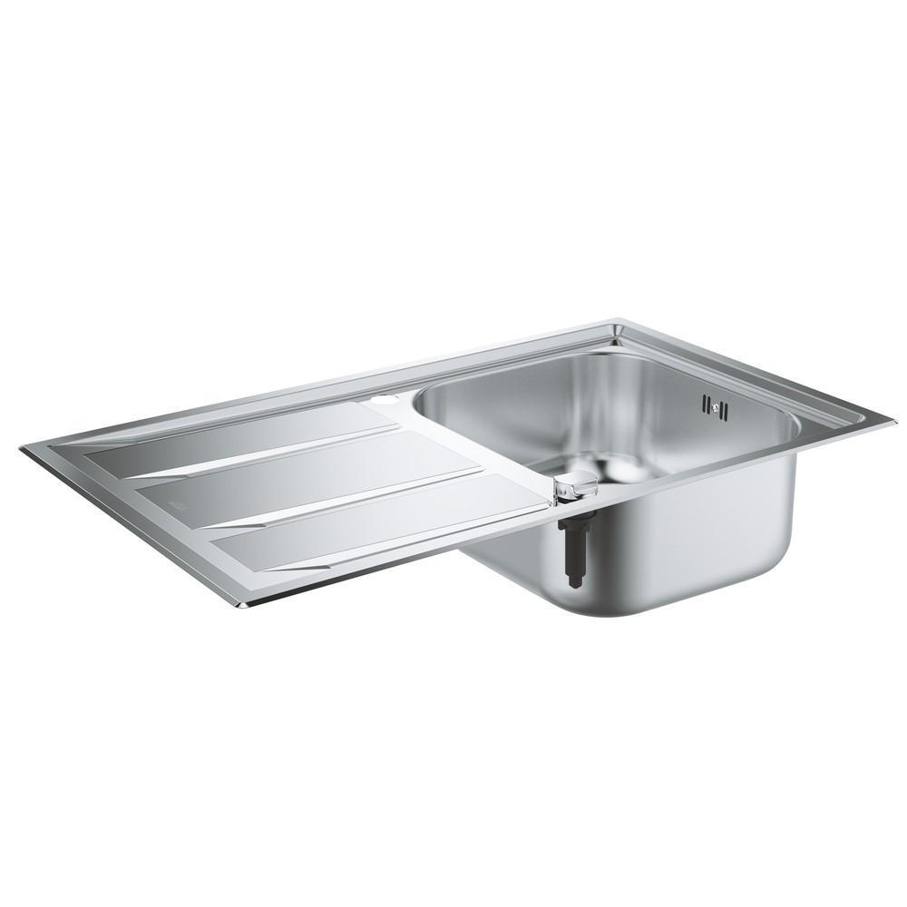 Мойка кухонная Grohe K400 31568sd0 врезная кухонная мойка 87 3 см grohe k400 31568sd0 нержавеющая сталь