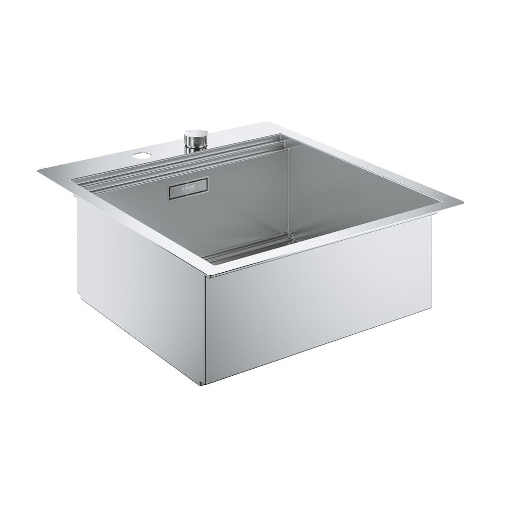 Мойка кухонная Grohe K800 31583sd0 grohe смесительgrohe zedra 32294001 для кухонной мойки