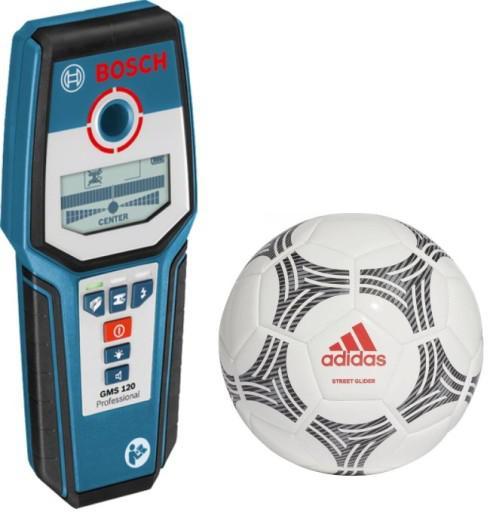 Детектор Bosch Gms 120 + футбольный мяч (0.615.994.0lp)
