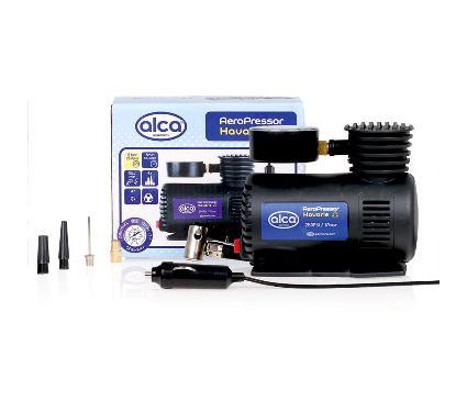 Автокомпрессор с манометром ALCA 203000