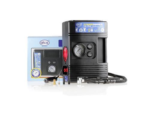 Автомобильный компрессор с фонарем ALCA 213000