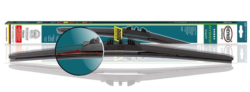Щётка Heyner 034000 щётка стеклоочистителя гибридная autoprofi zd 16 зимняя в резиновом кожухе разм 16 400мм