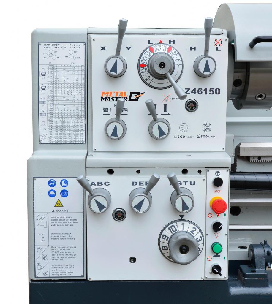 Станок токарный Metalmaster Z46150