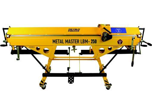 Листогиб METALMASTER LBM-250 PRO
