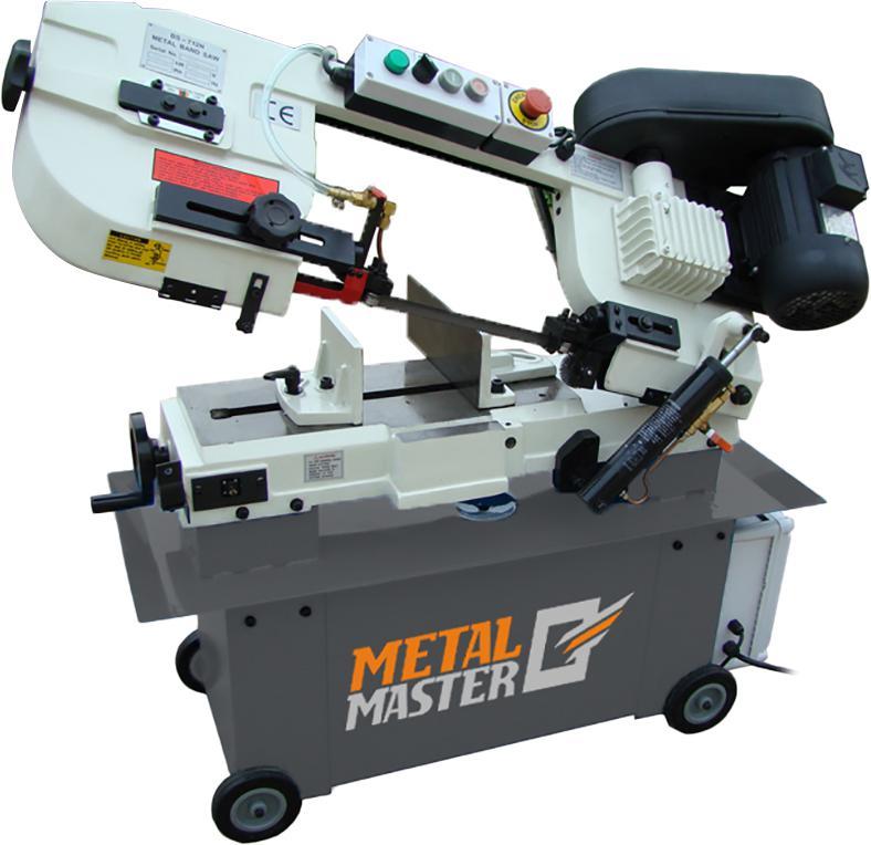 Станок ленточнопильный Metalmaster Bsm-712n