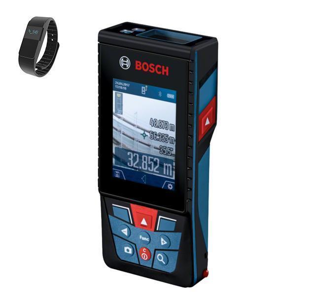 Дальномер Bosch Glm 120 (0.615.994.0ll) + фитнес-браслет