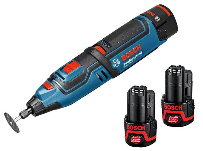 Набор Bosch Мини-дрель gro 10,8 v-li (0.601.9c5.001) +Аккумулятор 12 В2.0Ач liion (1.600.z00.02x)