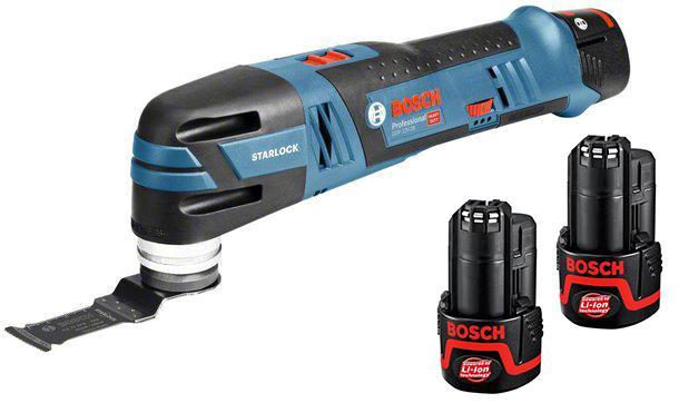 Набор Bosch Инструмент многофункциональный gop 12v-28 (0.601.8b5.020) +Аккумулятор 12 В2.0Ач liion (1.600.z00.02x)