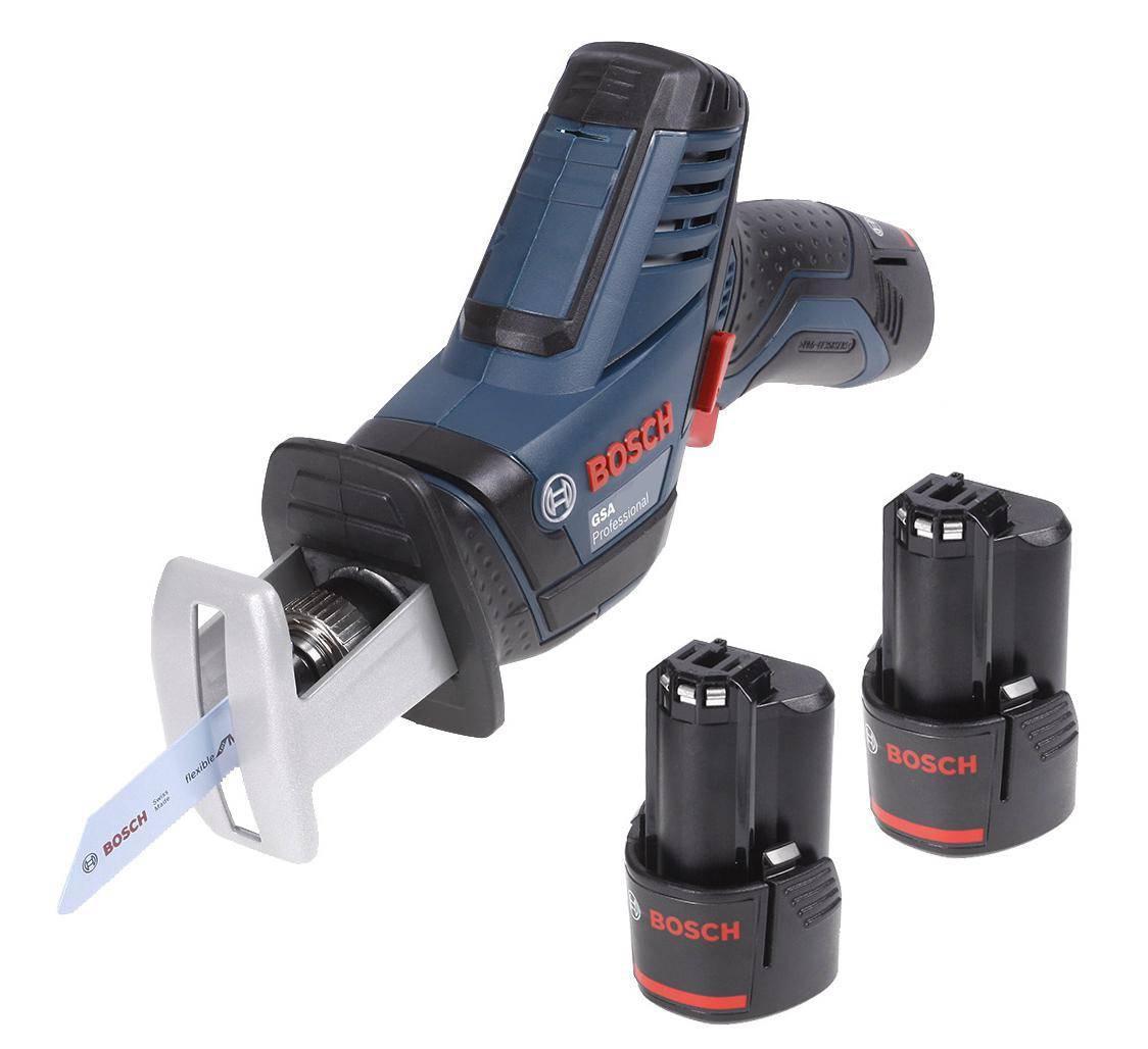 Набор Bosch Ножовка gsa 10,8 v-li (0.601.64l.972) +Аккумулятор 12 В2.0Ач liion (1.600.z00.02x)
