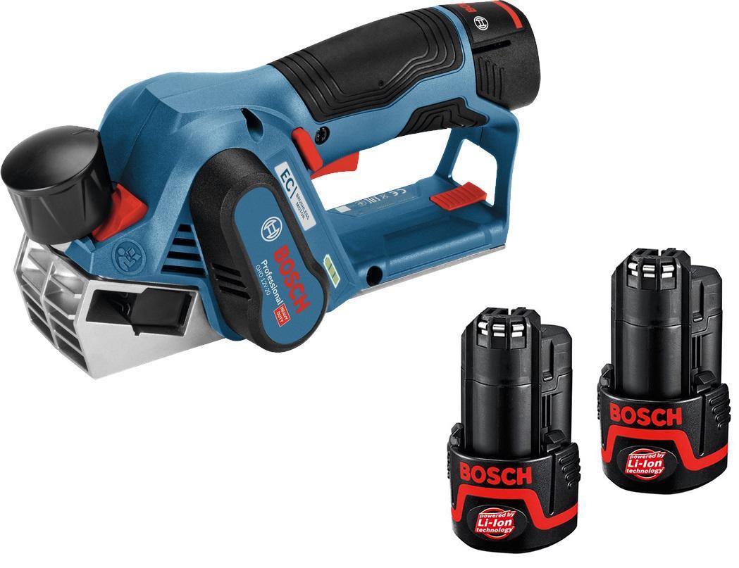 Набор Bosch Рубанок gho 12v-20 (06015a7001) +Аккумулятор 12 В2.0Ач liion (1.600.z00.02x)