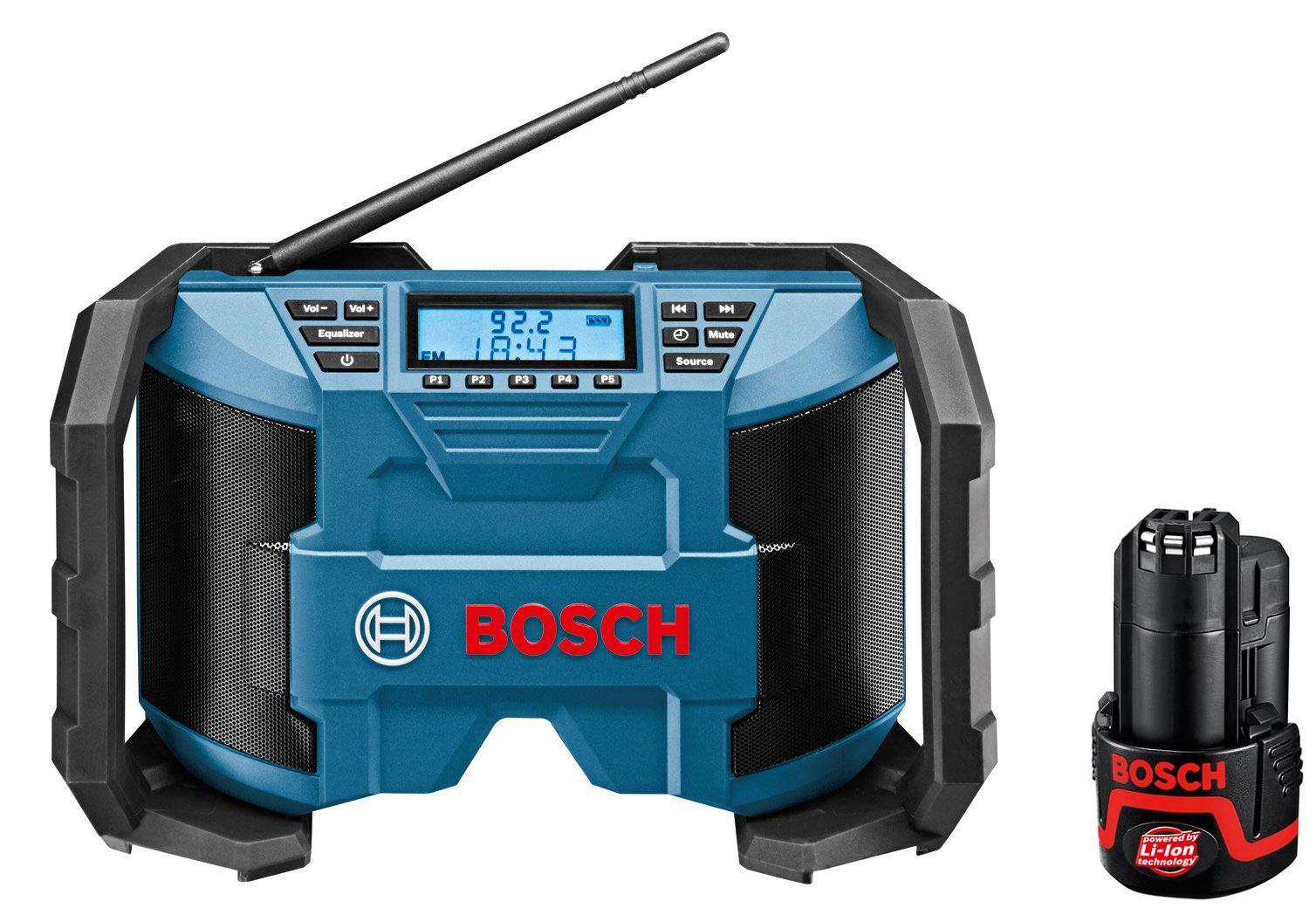 Набор Bosch Радио gml 10.8 v-li (0.601.429.200) +Аккумулятор 12В 2.0Ач liion (1.600.z00.02x)