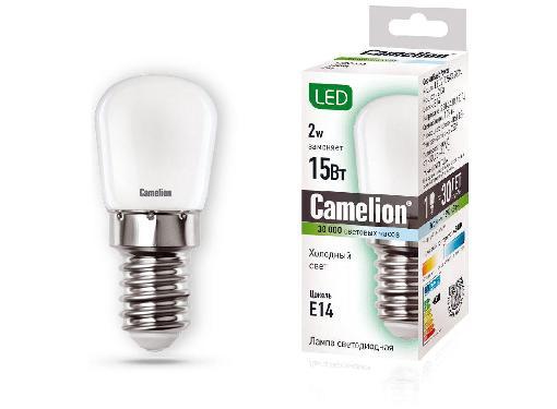 Лампа светодиодная CAMELION LED2-T26/845/E14