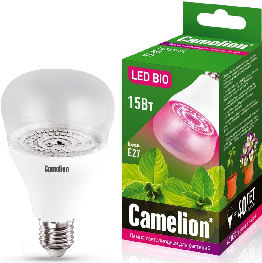 Лампа Camelion Led15-pl/bio/e27