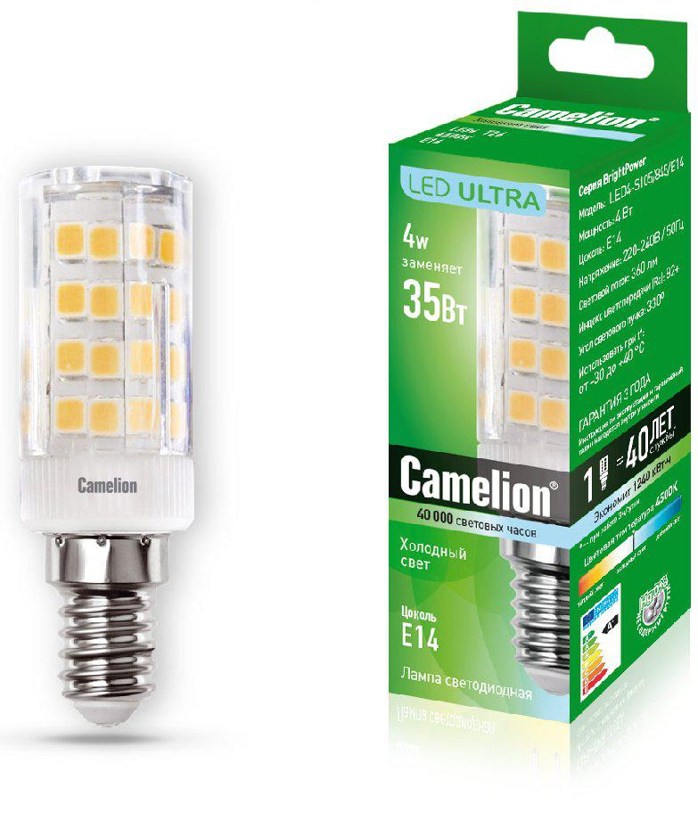 Лампа Camelion Led4-s105/845/e14