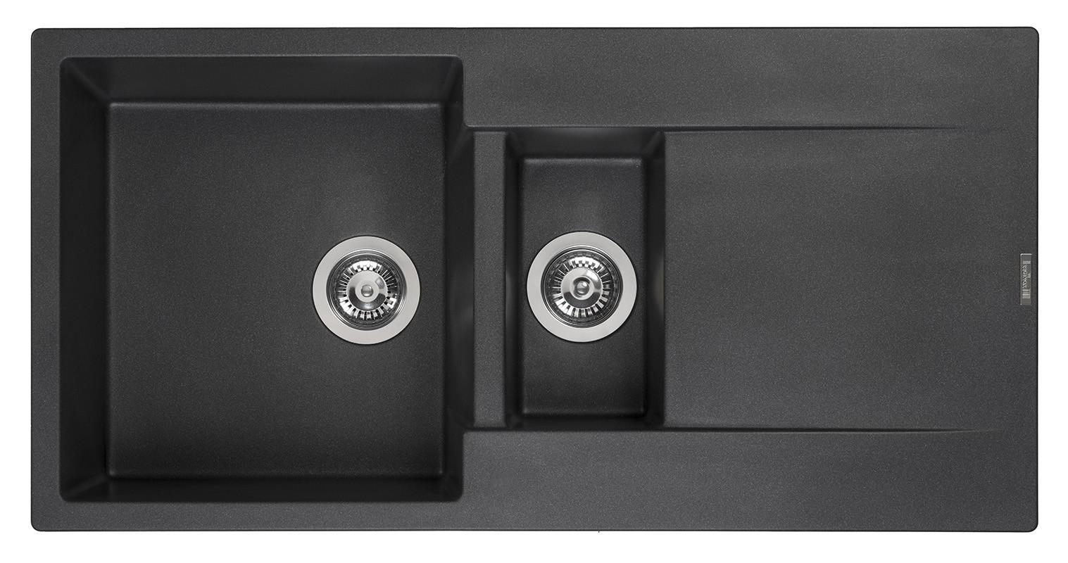 Мойка кухонная Reginox Amsterdam 15 black silvery r30967