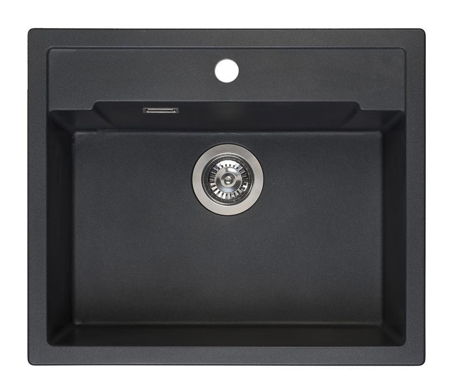 Мойка кухонная Reginox Amsterdam 54 black silvery r31049 цена