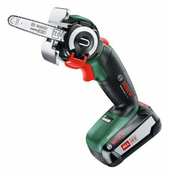 Мини-пила цепная Bosch Advancedcut 18 set (06033d5101)